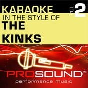 Sunny Afternoon (Karaoke With Background Vocals)[In The Style Of Kinks] Song
