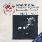Mendelssohn: Symphony No.3; A Midsummer Night's Dream Songs
