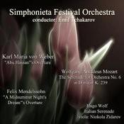 Weber - Mozart - Wolf - Mendelssohn: Selected Works Songs