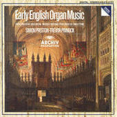 Early English Organ Music Songs