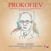 Prokofiev: Concerto For Violin And Orchestra No. 1 In D Major, Op. 19 (Digitally Remastered) Songs