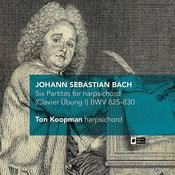 J.S. Bach: Six Partitas For Harpsichord (Clavier Übung I) Bwv 825-830 Songs