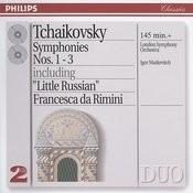 Tchaikovsky: Symphonies Nos.1-3 Songs
