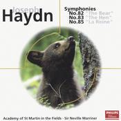 Haydn: Symphonies Nos.82,83 & 85 Songs