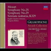 Mozart: Symphonies Nos.25 & 29; Serenata Notturna Songs