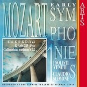 W.A. Mozart: Early Symphonies, Vol.1 Songs