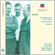 Britten: Serenade for tenor, horn & strings; Les Illuminations; Nocturne Songs