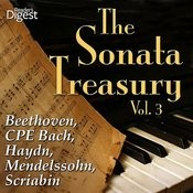 The Sonata Treasury, Vol. 3: Beethoven, Cpe Bach, Haydn, Mendelssohn, Scriabin Songs