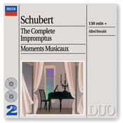 Schubert: The Complete Impromptus/Moments Musicaux (2 CDs) Songs