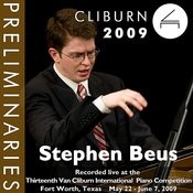 2009 Van Cliburn International Piano Competition: Preliminary Round - Stephen Beus Songs
