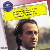 Schubert: Piano Sonata D845 / Schumann: Piano Sonata Op.11 Songs