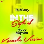 R U Crazy (In The Style Of Conor Maynard) [Karaoke Version] - Single Songs