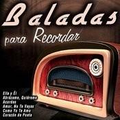 Baladas Para Recordar Songs