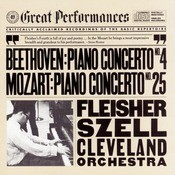 Beethoven:  Concerto No. 4 For Piano And Orchestra In G Major, Op. 58 And Mozart:  Concerto No. 25 For Piano And Orchestra In C Major, K. 503 Songs