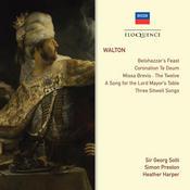 Walton: Belshazzar's Feast; Coronation Te Deum; Choral Works; Songs Songs