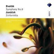 Dvorák : Symphony No.8 & Janácek : Sinfonietta (-  Apex) Songs