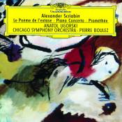Scriabin Le Poeme De Lextase Piano Concerto Promethee Songs