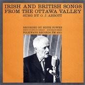 Irish And British Songs From The Ottawa Valley Songs