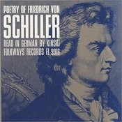 Poetry Of Friedrich Von Schiller: Read In German By Kinski Songs
