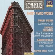 Barber/Bernstein/Copland: Short Piano Works Songs