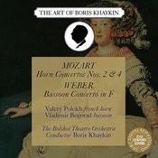 Mozart: Horn Concerto Nos. 2, 4 & Weber: Bassoon Concerto Songs
