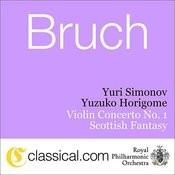 Max Bruch, Violin Concerto No. 1 In G Minor, Op. 26 Songs