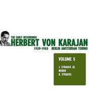 Herbert Von Karajan - The Early Recordings Vol. 5 Songs