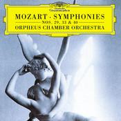 Mozart, W.A.: Symphonies Nos.29, 33 & 40 Songs