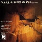 Carl Philipp Emmanuel Bach: 5 Trio Sonatas (Played In Quartet) Songs