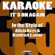 It's On Again (In The Style Of Alicia Keys & Kendrick Lamar) [Karaoke Version] - Single Songs