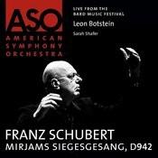 Schubert: Mirjams Siegesgesang, D. 942 Songs