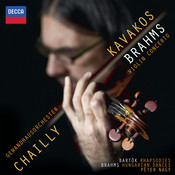 Brahms: Violin Concerto; Hungarian Dances;  Bartók: Rhapsodies Songs