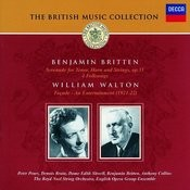 Britten: Serenade for Tenor, Horn & Strings/Walton: Façade Songs