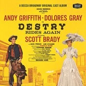 Destry Rides Again (1959 Original Broadway Cast Recording) Songs