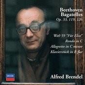Beethoven: Bagatelles Opp.33, 119 & 126; Für Elise; Rondo in C; Allegretto in C minor; Klavierstück in B flat Songs