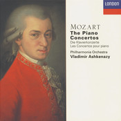 Mozart: The Piano Concertos Songs