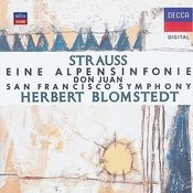 Strauss, R.: Eine Alpensinfonie;  Don Juan Songs