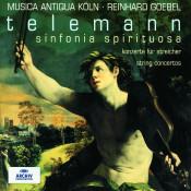 Telemann: Sinfonia Spirituosa; String Concertos Songs
