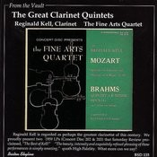 Mozart / Brahms: The Great Clarinet Quintets Songs