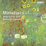 Miniatures For Flute & Guitar Songs