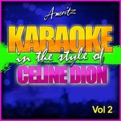 Karaoke - Celine Dion Vol. 2 Songs