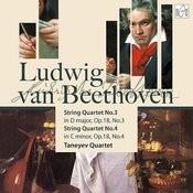 Ludwig Van Beethoven. String Quartet No.4 In C Minor, Op.18, No.4 Songs