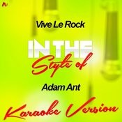 Vive Le Rock (In The Style Of Adam Ant) [Karaoke Version] Song