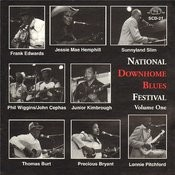 National Downhome Blues Festival, Vol. 1 Songs