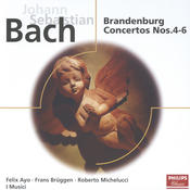 Bach, J.S.: Brandenburg Concertos Nos.4-6; Concerto for 2 harpsichords Songs