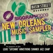 Siggraph 2009 New Orleans Music Sampler Songs