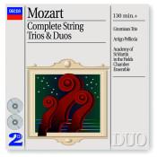 Mozart Complete Strings Trios Songs