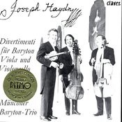 Joseph Haydn: Divertimenti For Baryton, Viola & Violoncello Songs
