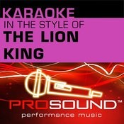 Hakuna Matata (Karaoke Instrumental Track)[In The Style Of Lion King] Song