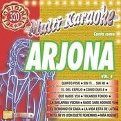 Canta Como Arjona Vol.4 Songs